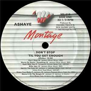 Ashaye - Don't Stop 'Til You Get Enough