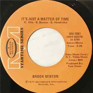 Brook Benton - It's Just A Matter Of Time